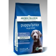 Arden Grange PUPPY JUNIOR LARGE BREED with fresh chicken & rice **2kg, 6kg & 12kg Out of Stock**