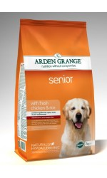Arden Grange SENIOR with Fresh Chicken & Rice **6kg & 12kg Out of Stock**
