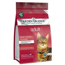 Arden Grange  ADULT CAT with Fresh Chicken and Potato - grain free recipe **2kg Out of Stock**