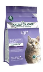 New - Arden Grange  ADULT CAT LIGHT with Fresh Chicken and Potato - grain free recipe