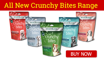 crunchy bites dog treats arden grange